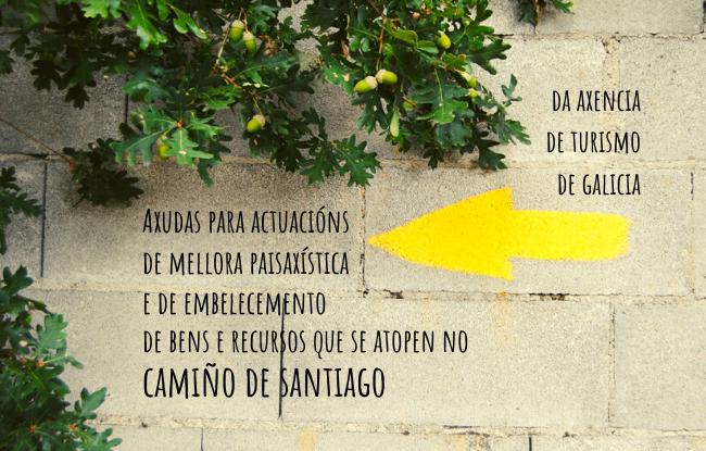 Axudas para bens no Camiño de Santiago da Axencia de Turismo de Galicia