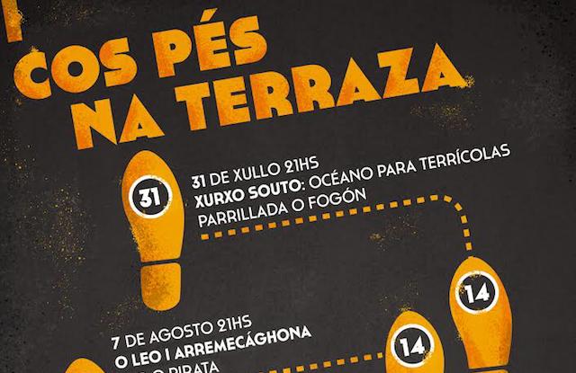 'Cos pés na terraza', ciclo de concertos na Pobra do Brollón