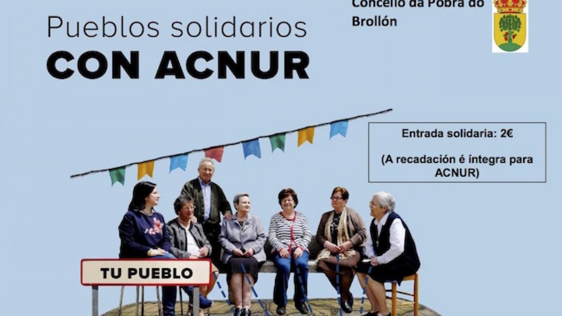 Cine solidario Acnur A Pobra do Brollón