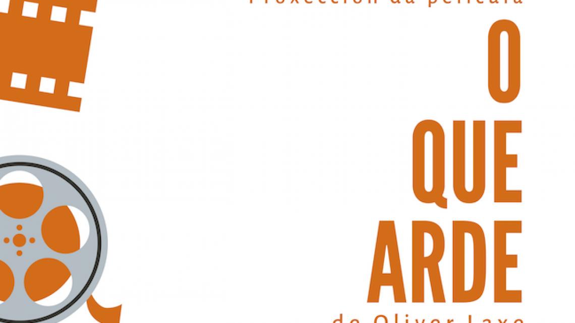 Proxección O que arde de Oliver Laxe