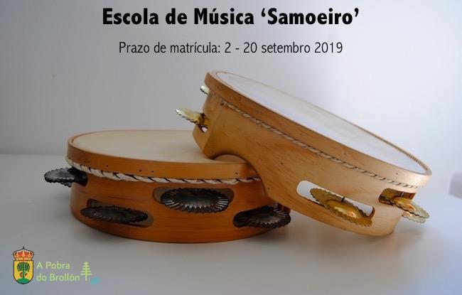 escola de música A Pobra do Brollón