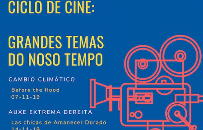ciclo de cine Grandes Temas do Noso Tempo en A Pobra do Brollón