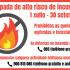 Comeza a tempada de alto risco de incendios forestais