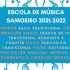 Horarios de la Escuela de Música Samoeiro 2021-22